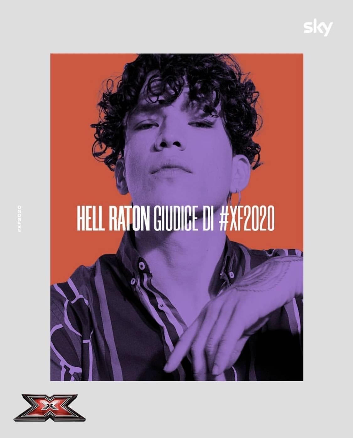 Hell Raton, il giudice (a sorpresa) di X-Factor