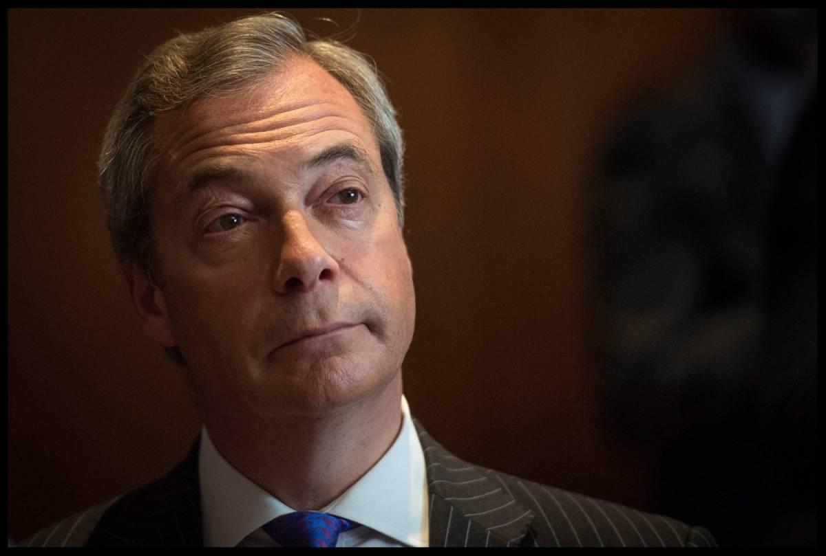 "Uk, bufera su Nigel Farage: ""Il Black Lives Matter come i Talebani"""