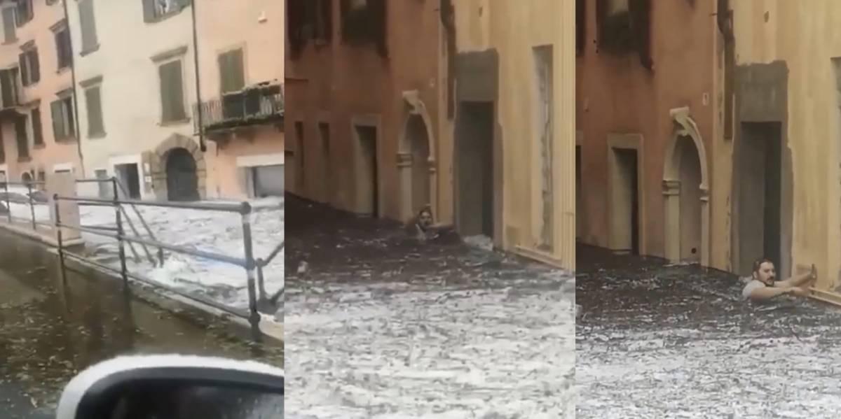 "Quel tweet choc del giornalista: ""Verona? Nubifragio è il karma"""