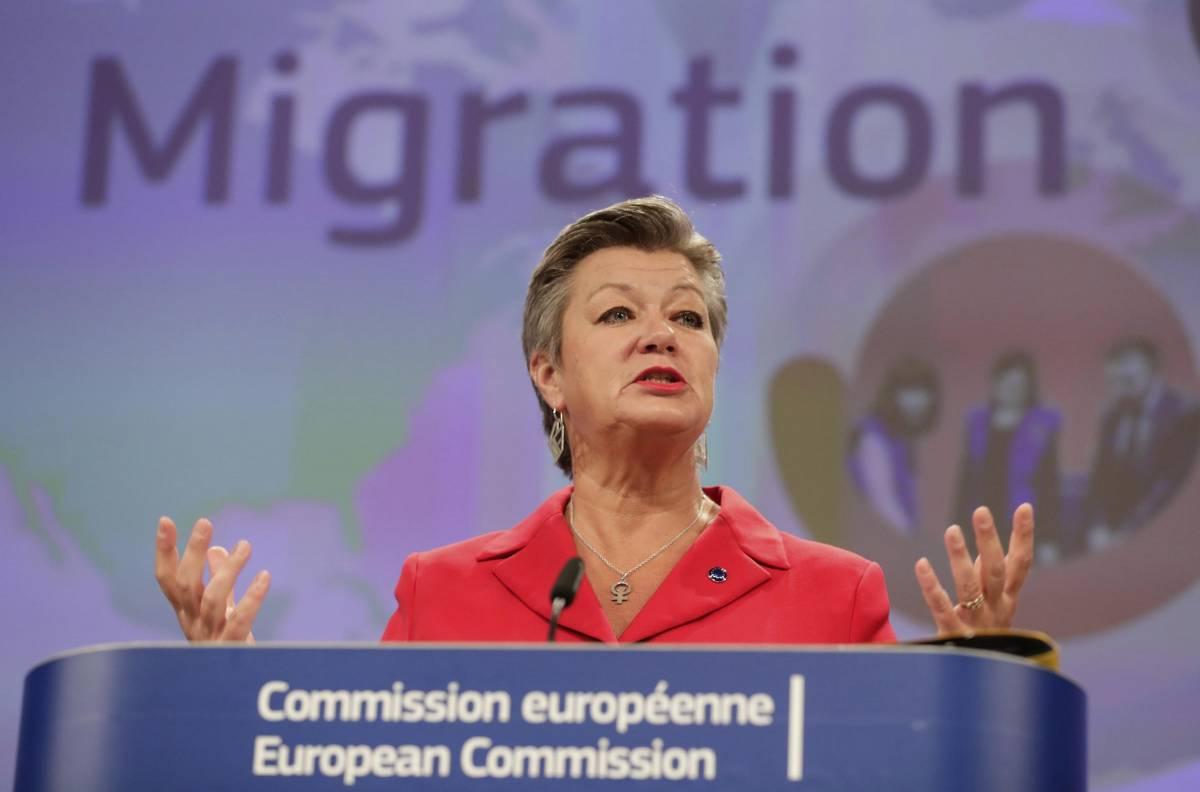 Ylva, la comunista che da Bruxelles vuol farci invadere dai clandestini