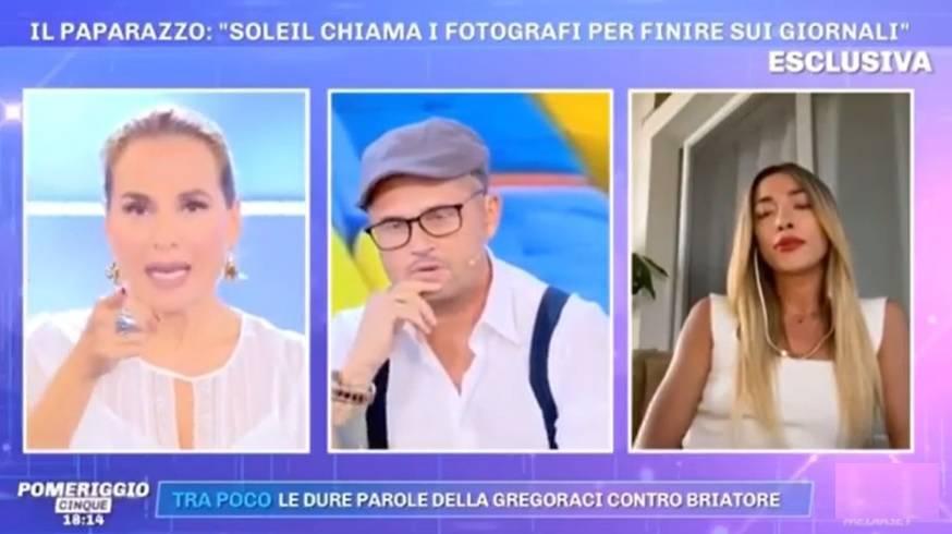 "Barbara d'Urso asfalta Soleil Sorge in diretta: ""Qui decido io"""