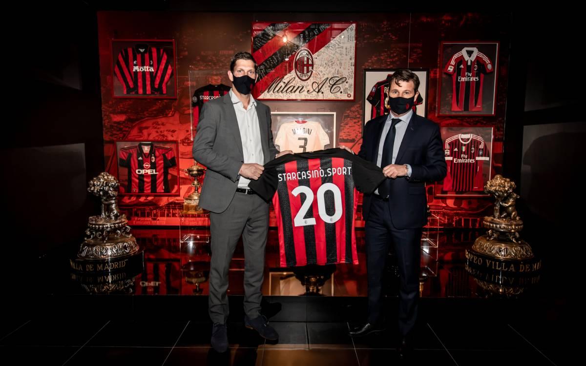 StarCasinò.sport e Milan assieme per le prossime tre stagioni