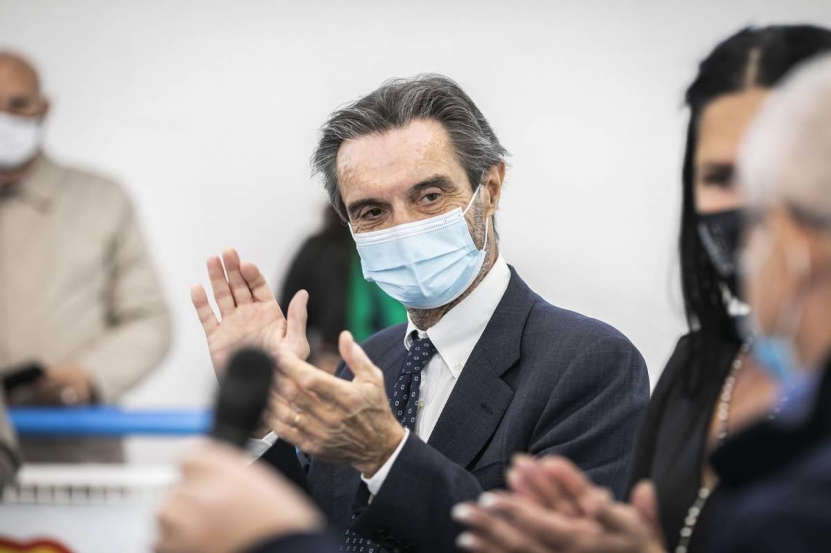 """Attilio Fontana: """"Lockdown in Lombardia? Fake news, lo abbiamo detto anche ieri"""""""