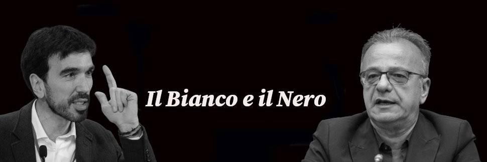 """Il Bianco e il Nero, Rotondi: """"De Luca poteva parlare meno..."""". Martina: """"Al primo posto c'è la salute"""""""