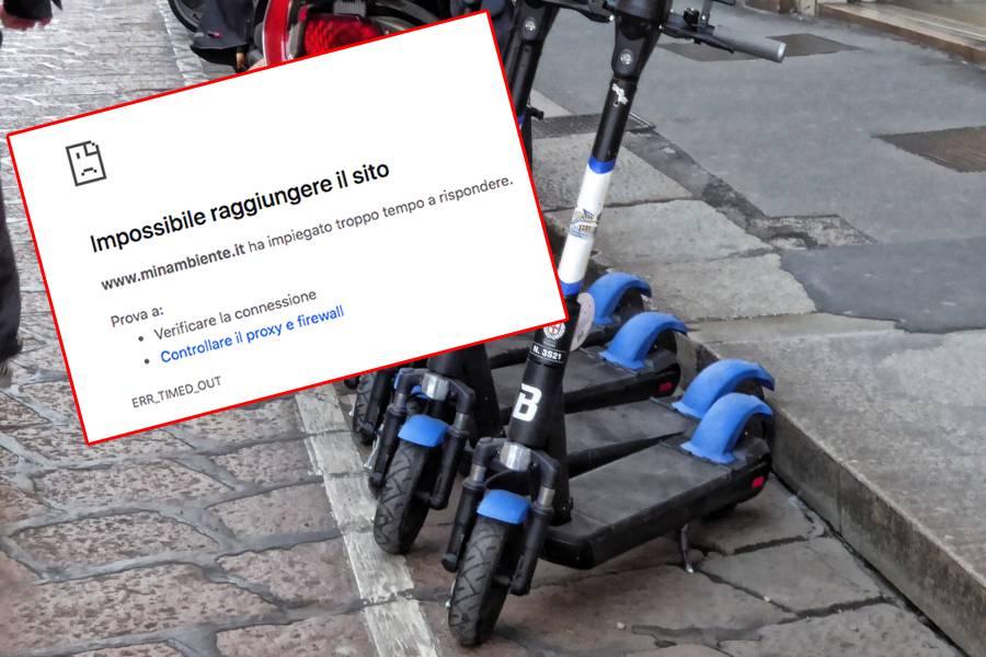 Grande caos per il bonus bici: sito del Ministero va già in tilt