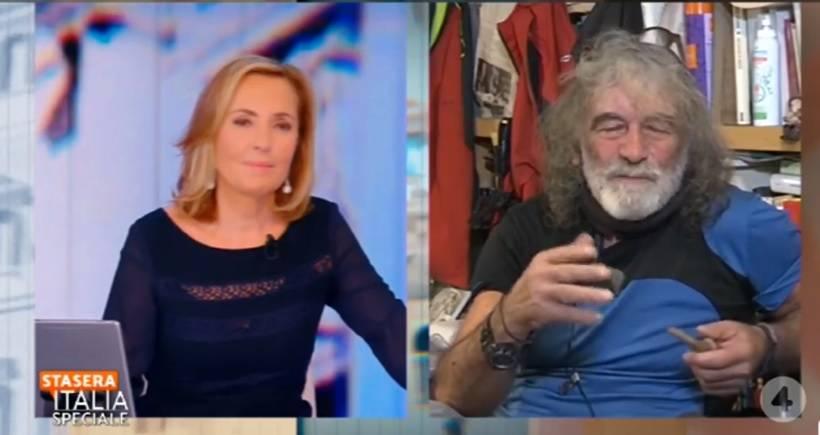 """Mauro Corona piange la Berlinguer: """"Io e Bianchina eravamo come una coppia comica"""""""