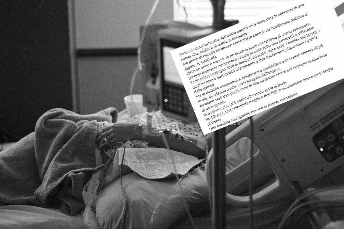 """""""Non si muore solo di Covid"""": la straziante lettera di un malato di tumore"""
