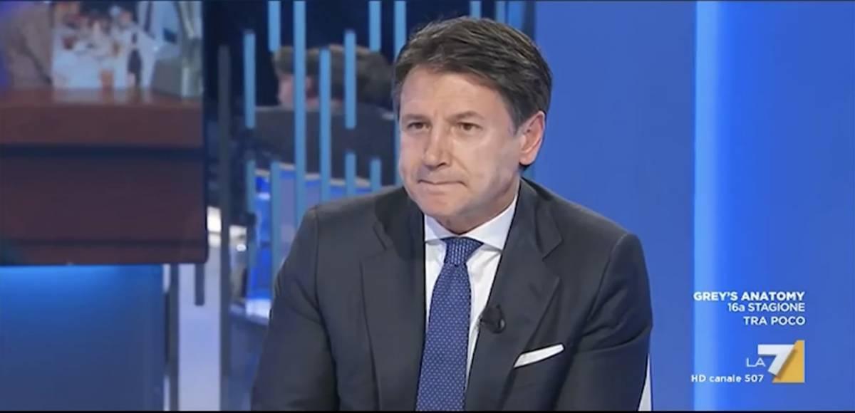 """""""Ha mai sentito Mario Draghi?"""", la domanda della Gruber che innervosisce Conte"""