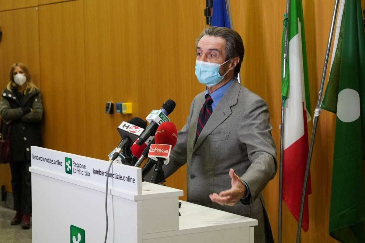 L'annuncio di Fontana: quando la Lombardia può tornare zona gialla