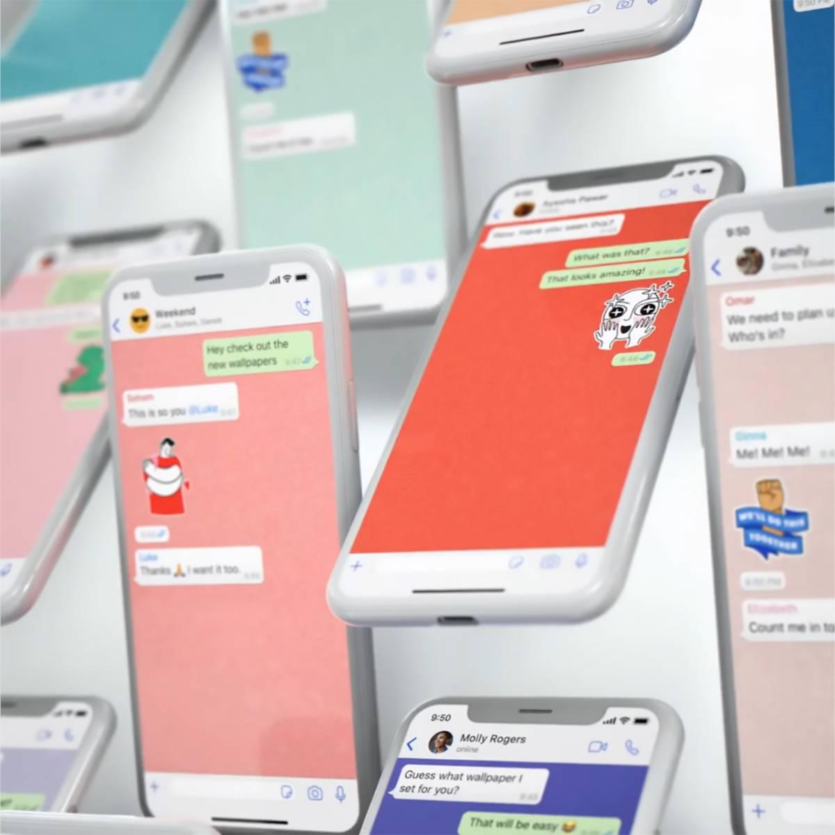 WhatsApp: ora si può impostare uno sfondo diverso per ogni chat