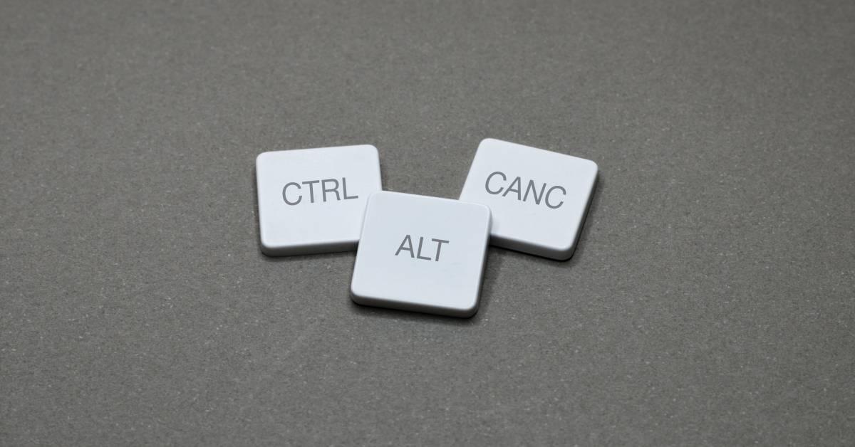 Perché premiamo Ctrl+Alt+Canc quando Windows si blocca?