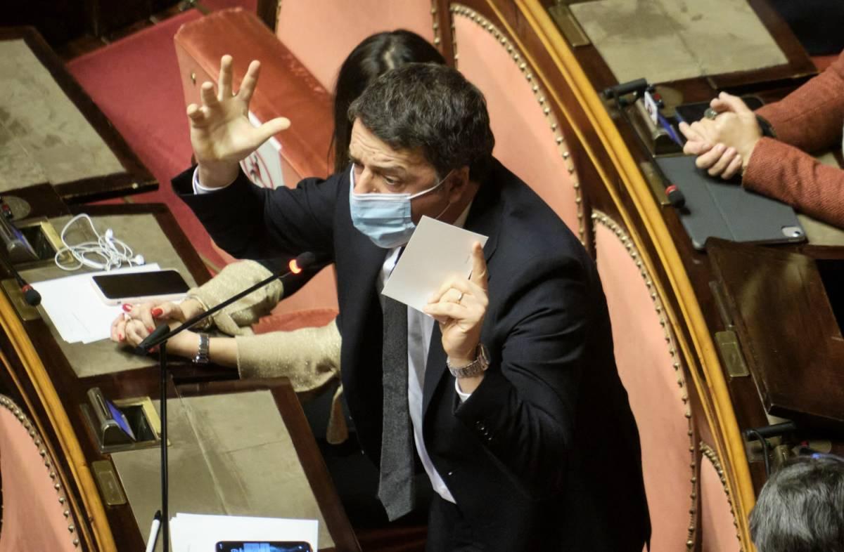 """Renzi bombarda ancora Conte """"Responsabili? No alla fiducia"""""""