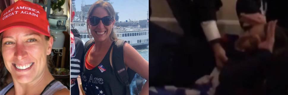 La rissa, le urla poi uno sparo: così è stata uccisa nell'assalto Ashli Babbitt