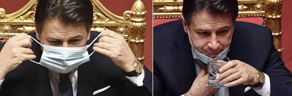 """Il mistero dell'orologio di Conte: """"Alle 9.30 segnava le 10.20 e alla fine dell'intervento la stessa ora"""""""
