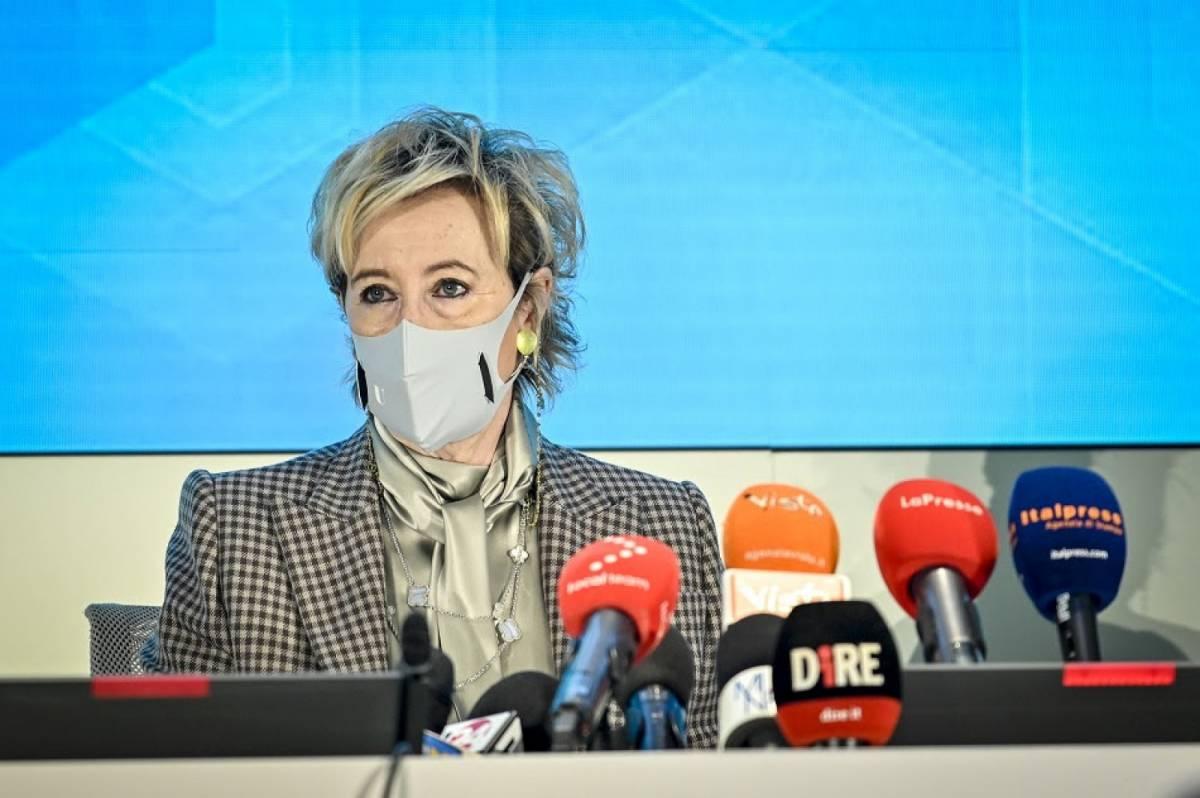 """Moratti: """"Quando finiranno le vaccinazioni in Lombardia"""""""