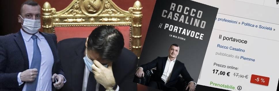 """""""Rocco è l'uomo decisivo di oggi"""". Ma la crisi blocca l'autobiografia di Casalino"""