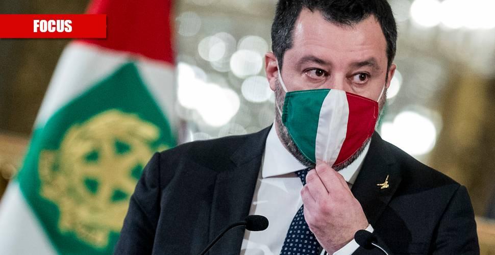 """""""Serve una legislazione europea"""": la svolta di Salvini sui migranti"""