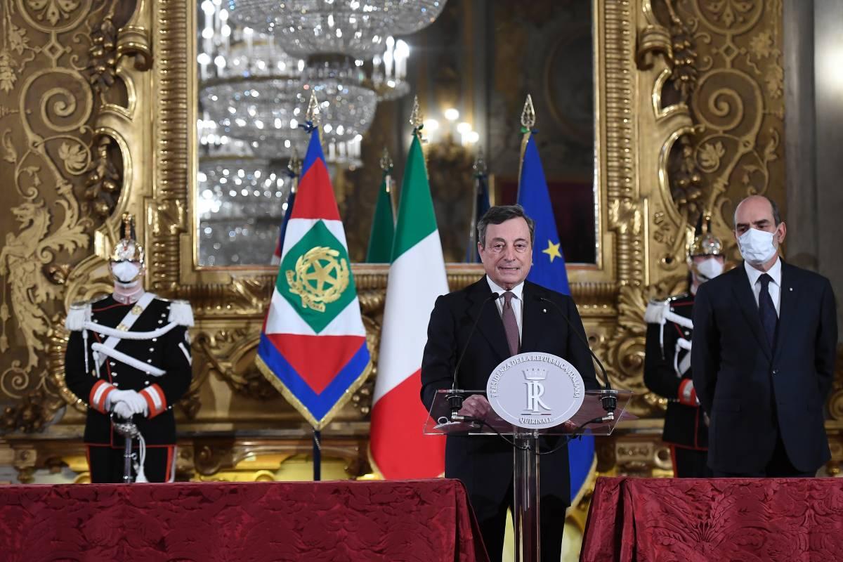 """""""Draghi ha fatto due governi: uno per i partiti e uno per sé"""""""