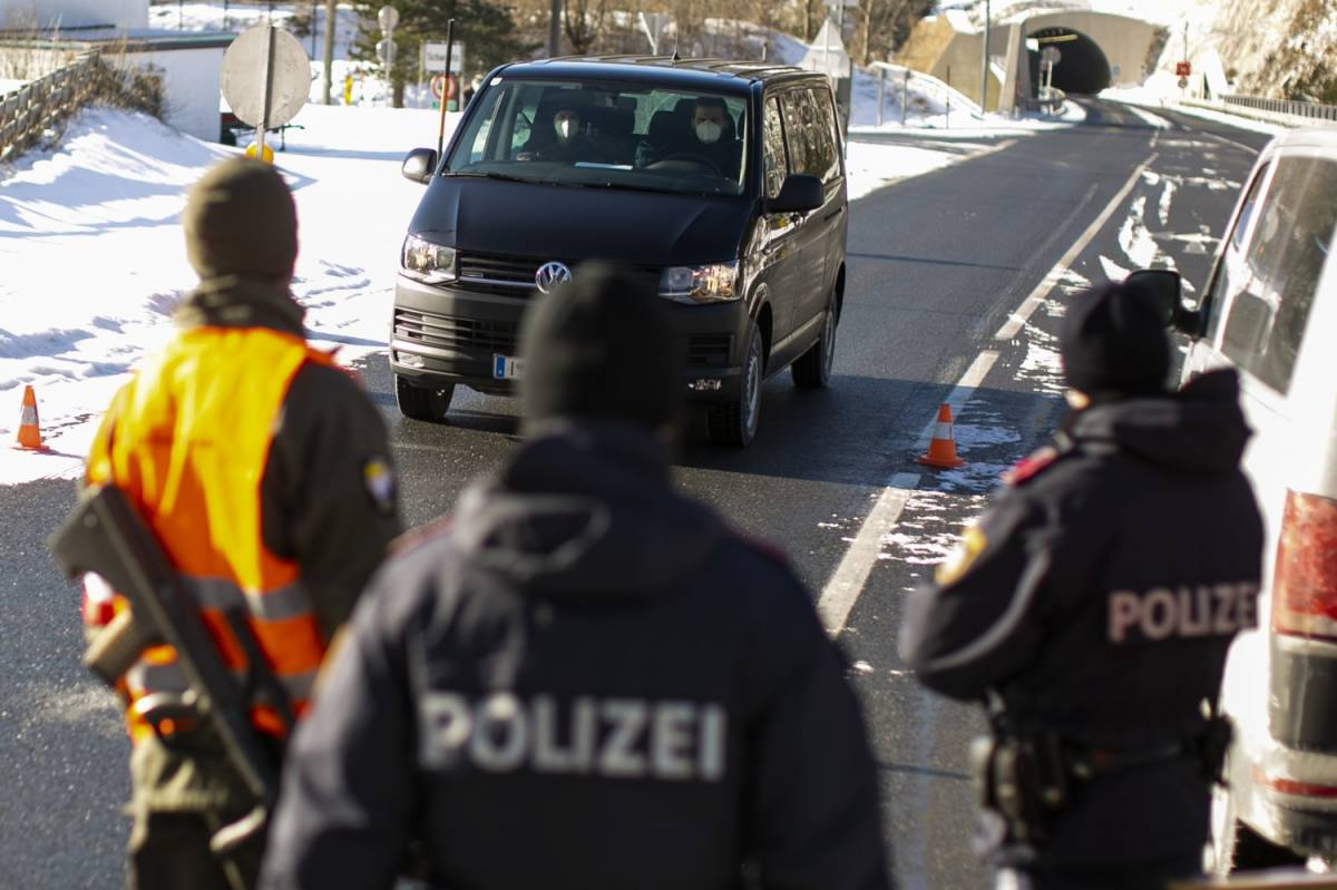 Austria, test ai camionisti. Code record al Brennero