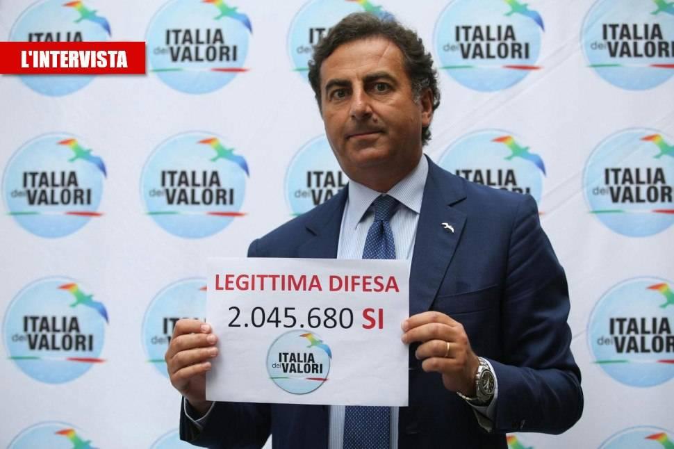 """Messina: """"Contattato da dissidenti M5S, Idv ci sta per progetto vero"""""""