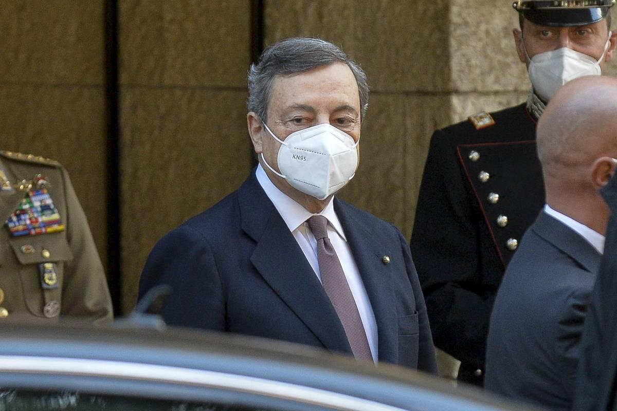 """Oggi Draghi firma il """"patto green"""". Ma il dl Sostegno slitta di sette giorni"""
