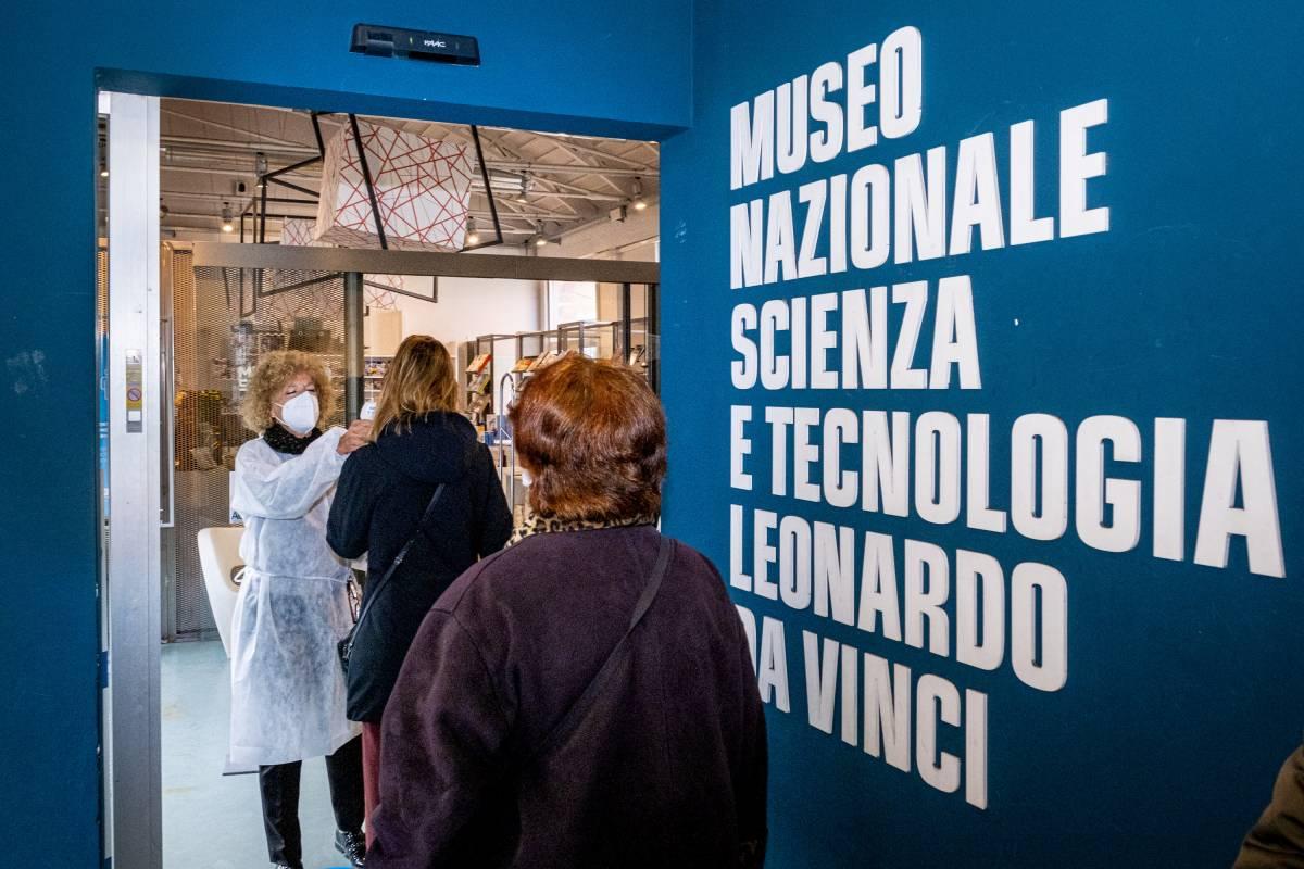 Il Museo della Scienza diventa un ambulatorio