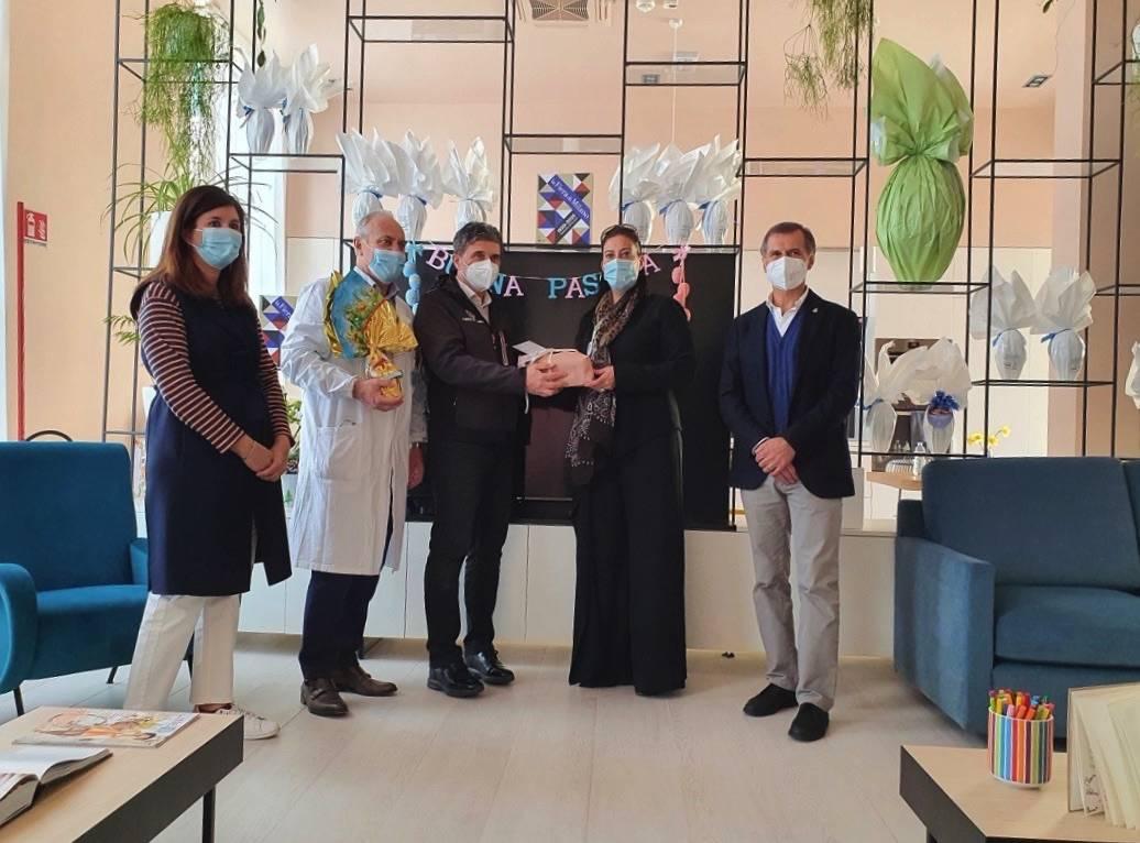 Le fondazioni Fiera Milano e Ronald McDonald al Niguarda assieme ai piccoli pazienti ricoverati