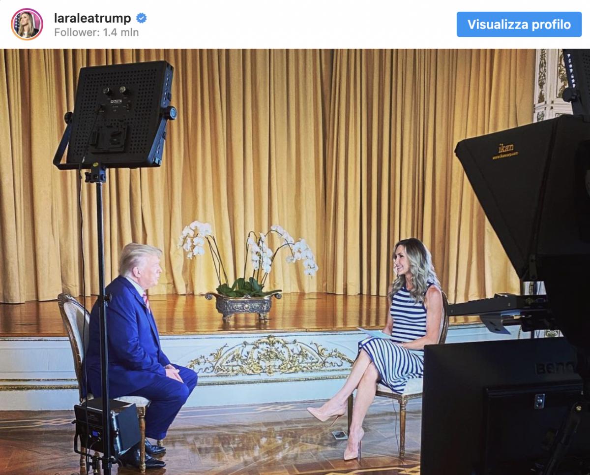 L'intervista che Facebook censura: ecco cosa ha detto Trump in tv