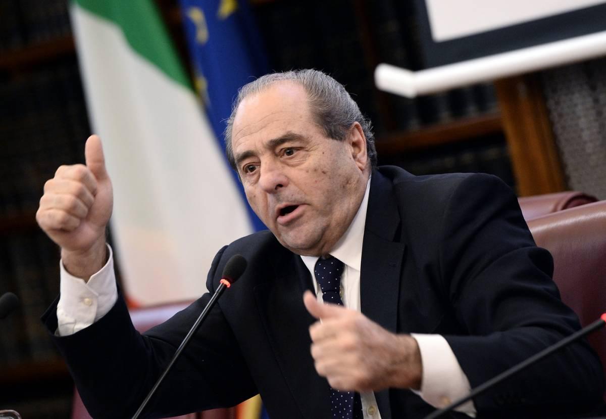 """Di Pietro duro contro Grillo: """"Una sciocchezza mostruosa"""""""