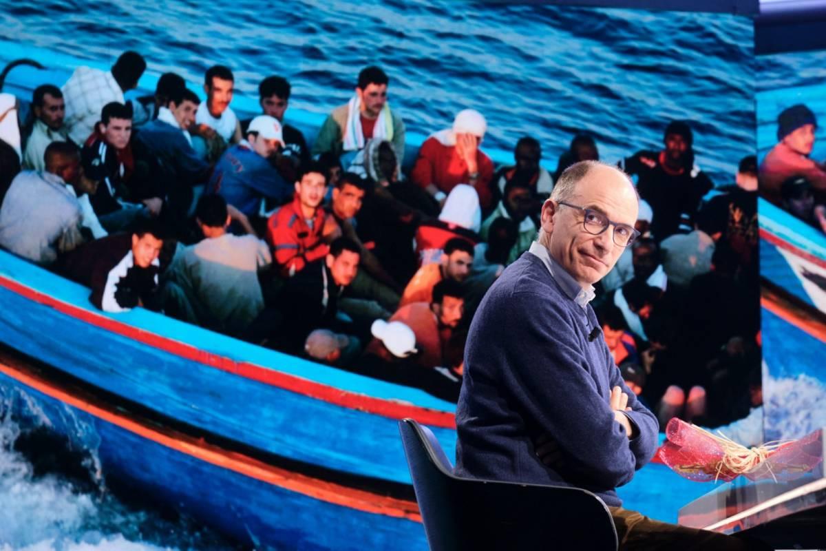 Migranti, ong, ius soli: ecco perché Letta provoca Salvini