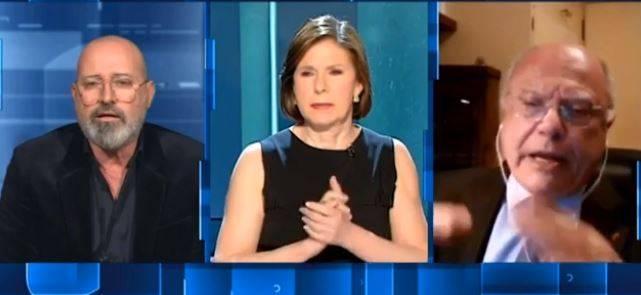 """Si vergogni..."": scontro totale in tv Bonaccini-Galli"