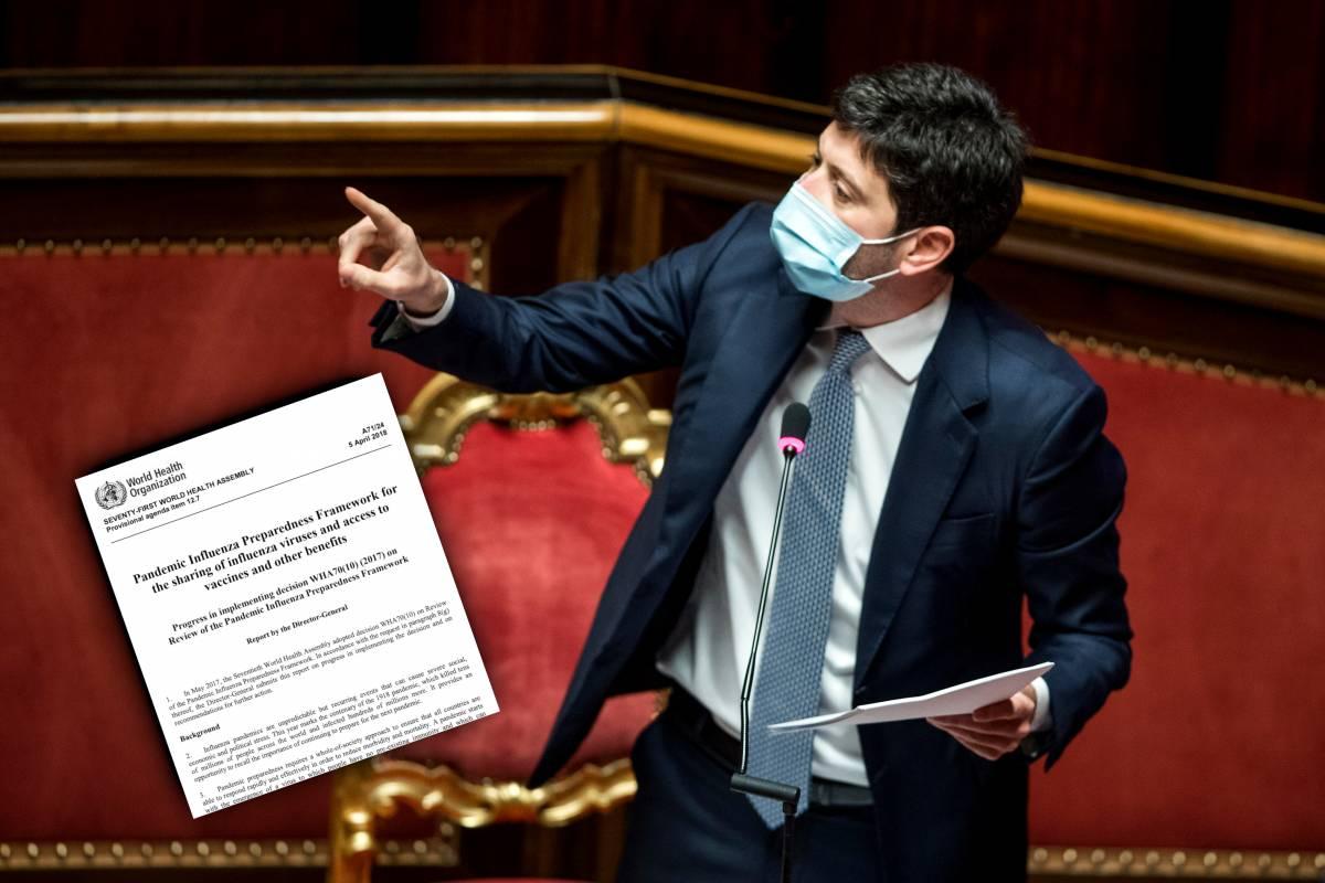 """""""Piano pandemico non sufficiente"""". Ma un documento smentisce Speranza"""