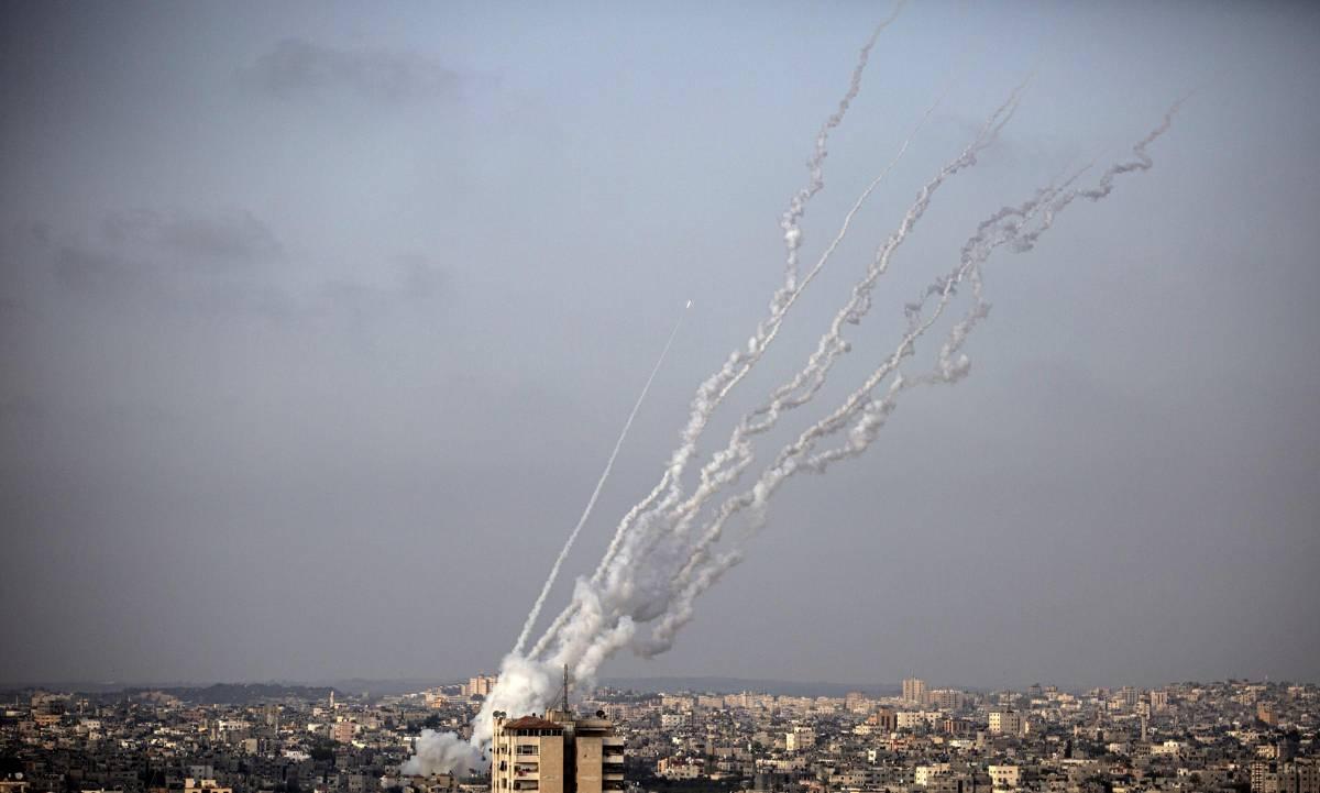 Gerusalemme, pioggia di razzi di Hamas