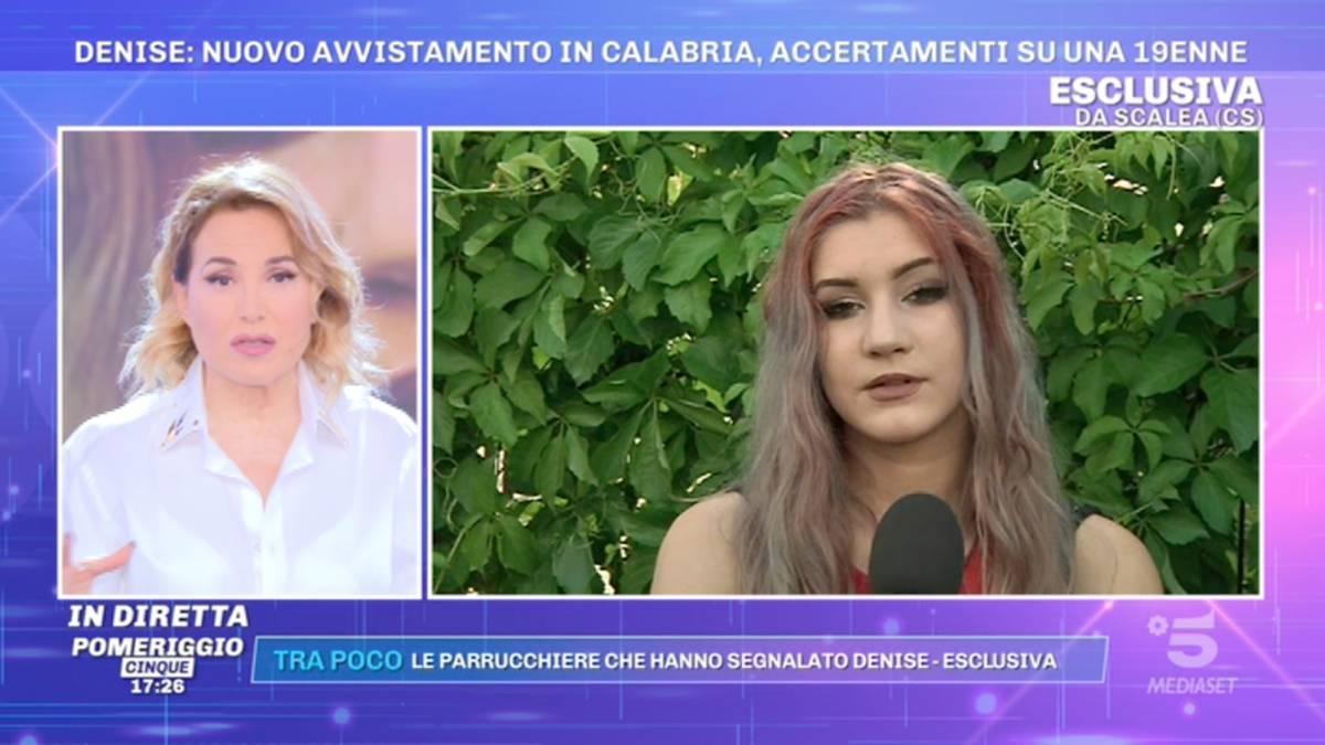 """La """"Denise calabrese"""" va in tv: """"Fatemi il test del Dna"""""""