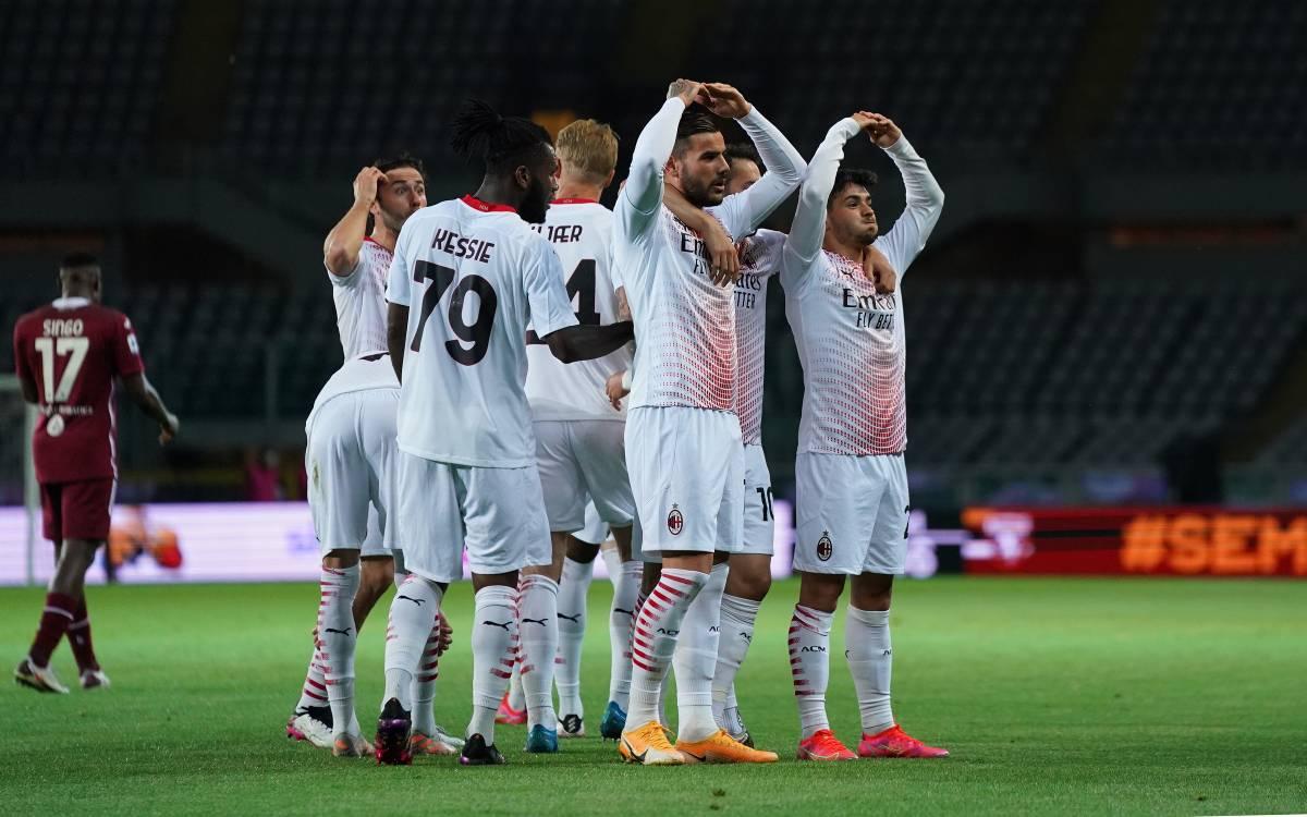 Il Milan di casa a Torino sa solo fare gol: sono 10 Champions a tre punti
