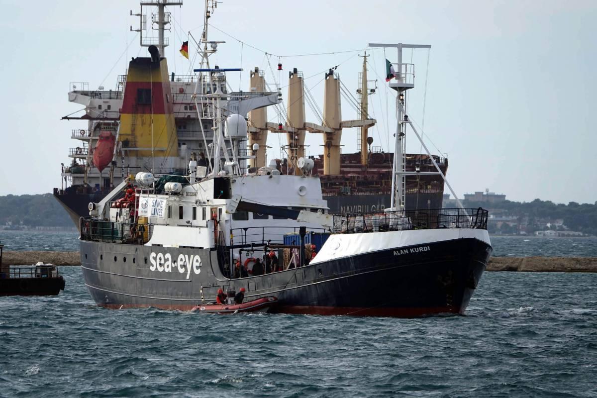 Per Sea Eye finisce male: scatta il blocco