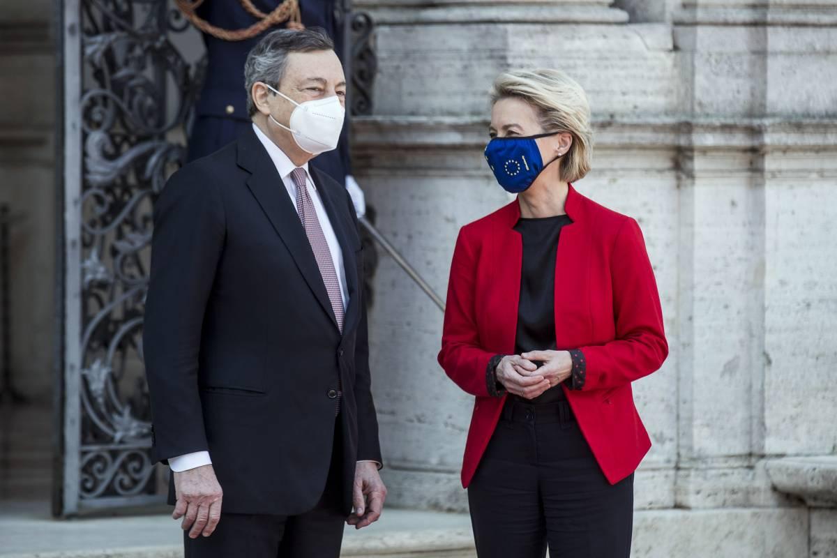 Draghi si candida al dopo Merkel