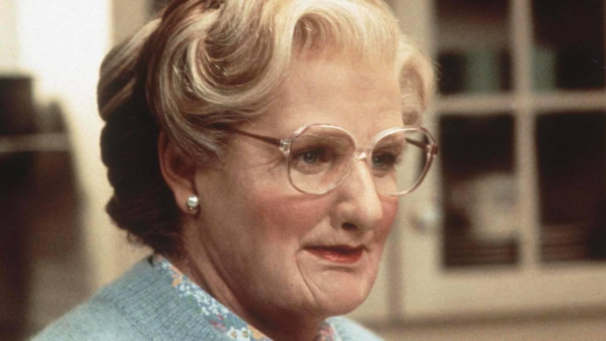 Mrs. Doubtfire, Robin Williams vestì i panni della tata anche nella vita reale