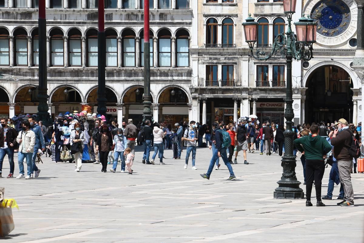 """Venezia riabbraccia i turisti stranieri """"Ora aspettiamo il ritorno degli americani"""""""