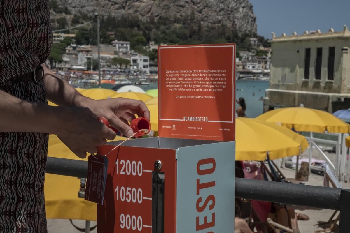 Prevenire l'inquinamento da mozziconi: torna la campagna #CAMBIAGESTO