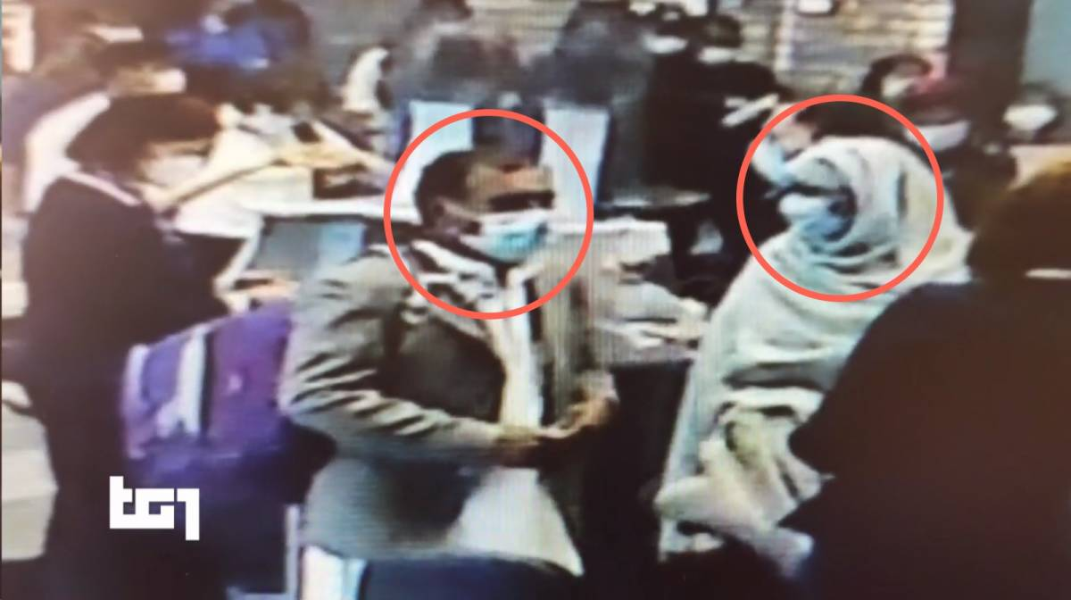 Fuga in aeroporto: il video che incastra i genitori di Saman