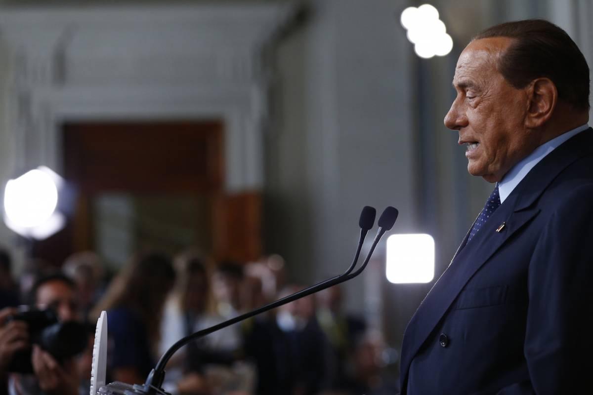 """Berlusconi: """"Indispensabile un partito unico repubblicano per governare"""""""
