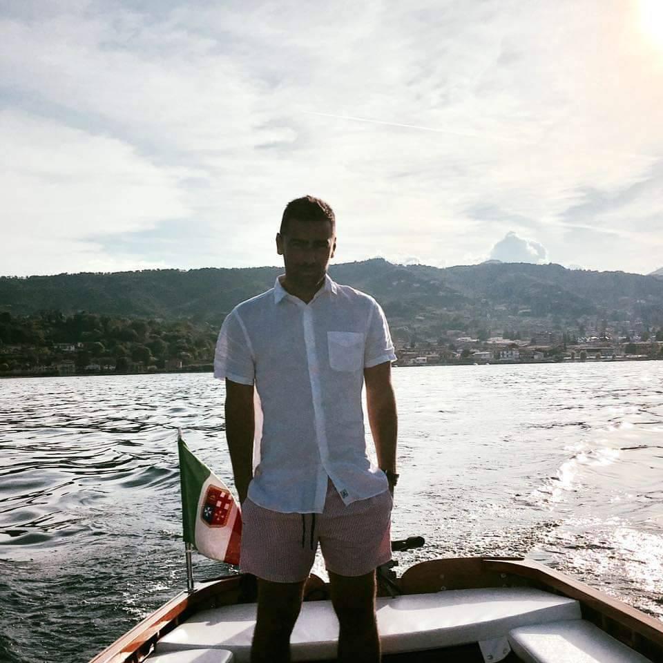 In foto, Umberto Garzarella, 37 anni (immagine da profilo Facebook)
