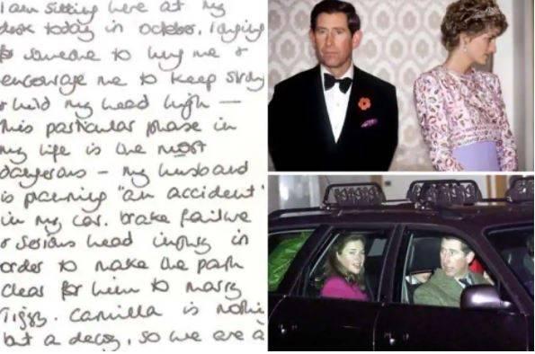 """La verità sulla lettera choc di Diana: """"Cosa c'è dietro..."""""""