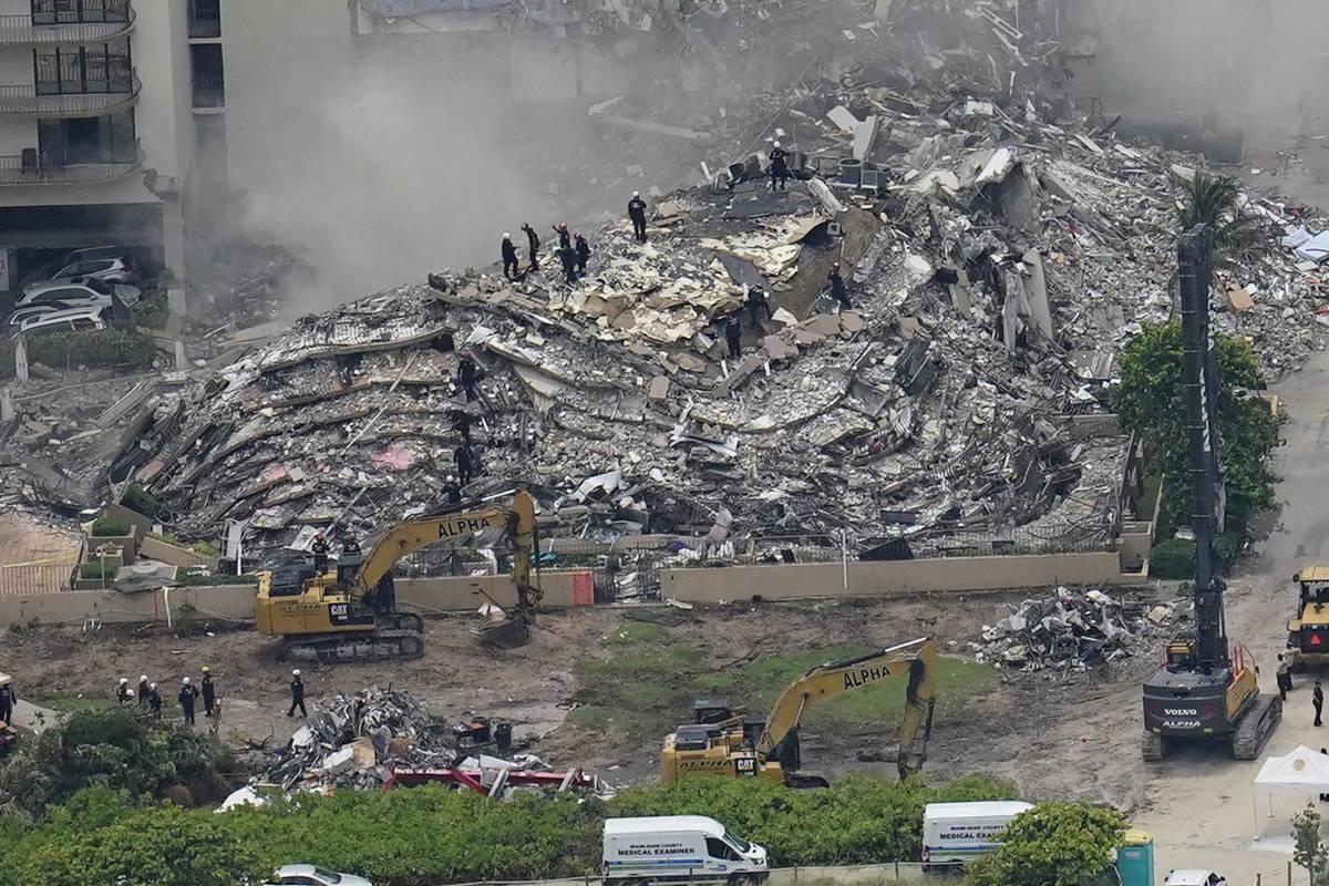 """Miami, danni strutturali da anni  """"Nessun suono dalle macerie"""""""