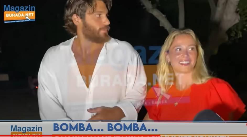 """Can Yaman furioso coi paparazzi e Diletta sbotta: """"Non mi tirare però"""""""
