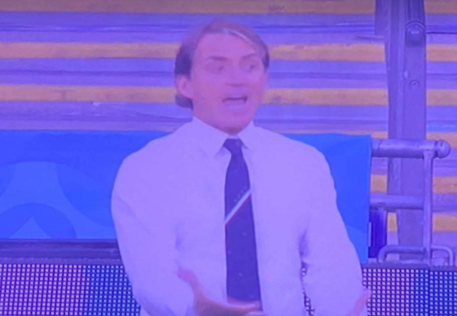 """L'ira di Mancini (scatenato): """"Giochiamola, porca..."""""""