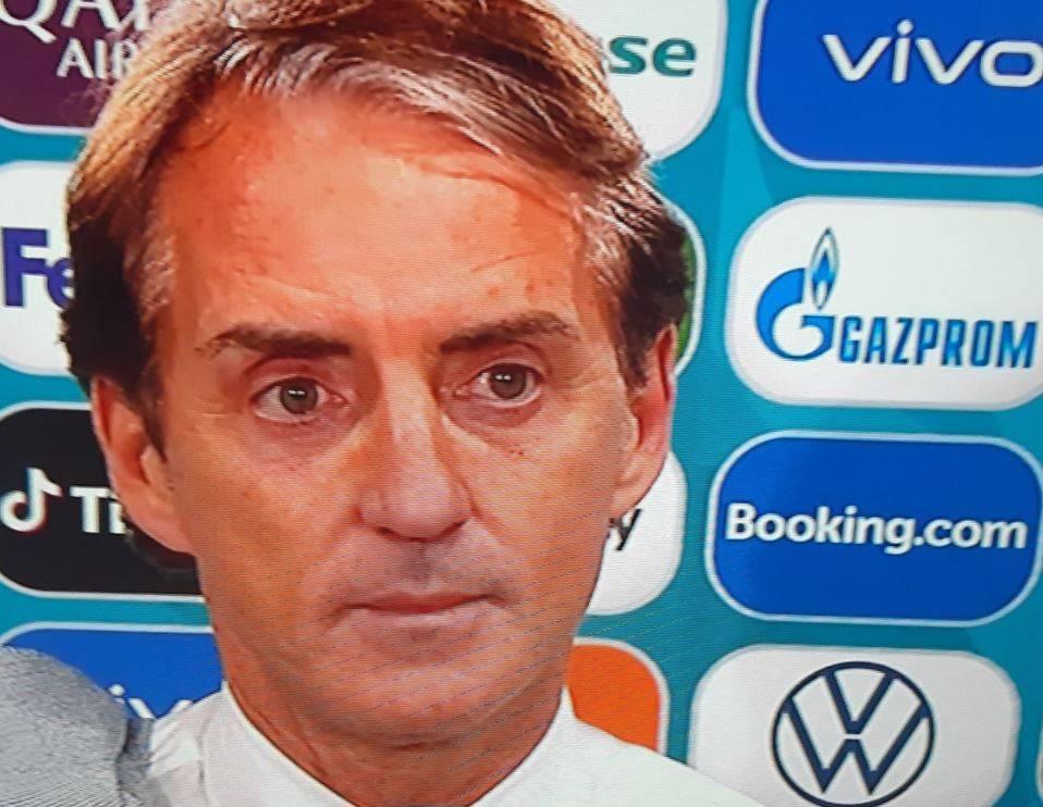 """""""Vinto all'italiana?"""". E Mancini reagisce così in tv"""