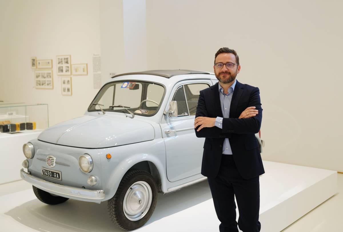 La 500 del 1960 e la Monk di Molteni, così si rinnova il museo del Design