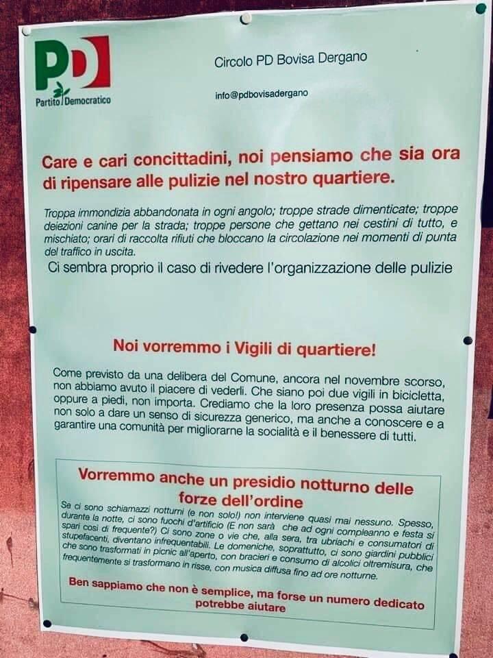 Cortocircuito Pd: critica Sala su degrado e sicurezza